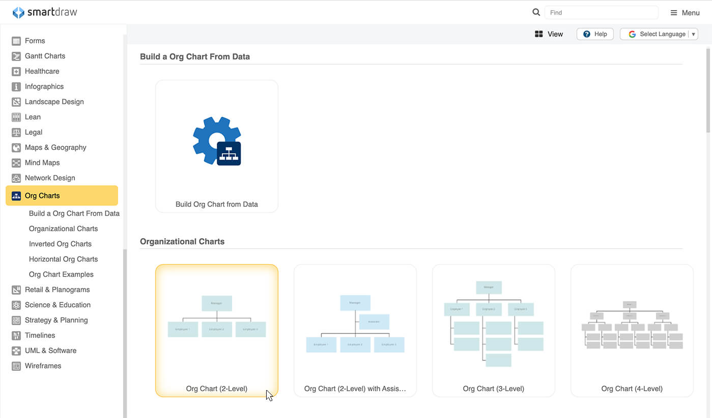 Getting Started. Before SmartDraw Can Automatically Format Your Organizational  Chart ...