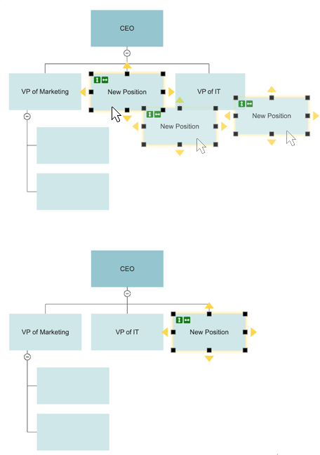 Org chart formatting