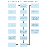 General Duties of a Legal Assistant in Criminal Cases