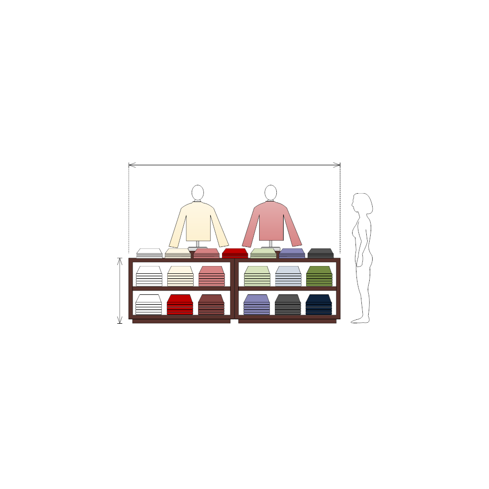 Example Image: Clothing Store Display