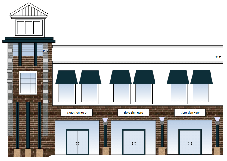 Store layout example