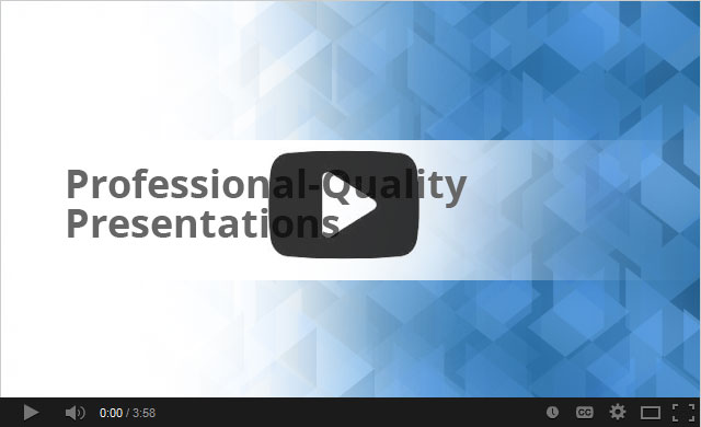 SmartDraw Presentations Video
