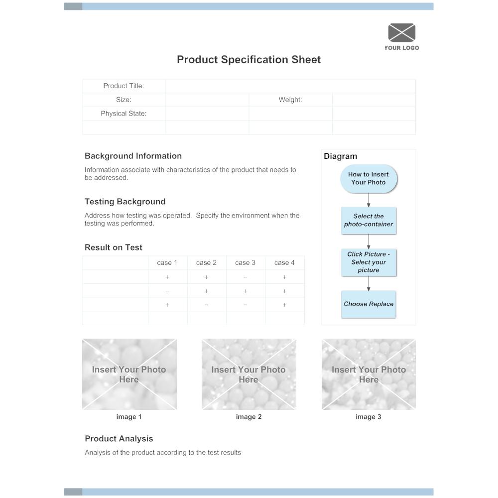 Product specification - Product Specification 0