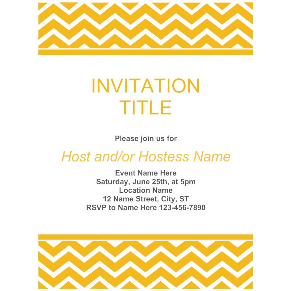 Example Image: Invitation 02
