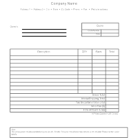 Business Quote Form