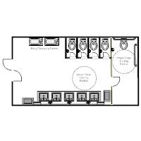 public restroom plan examples