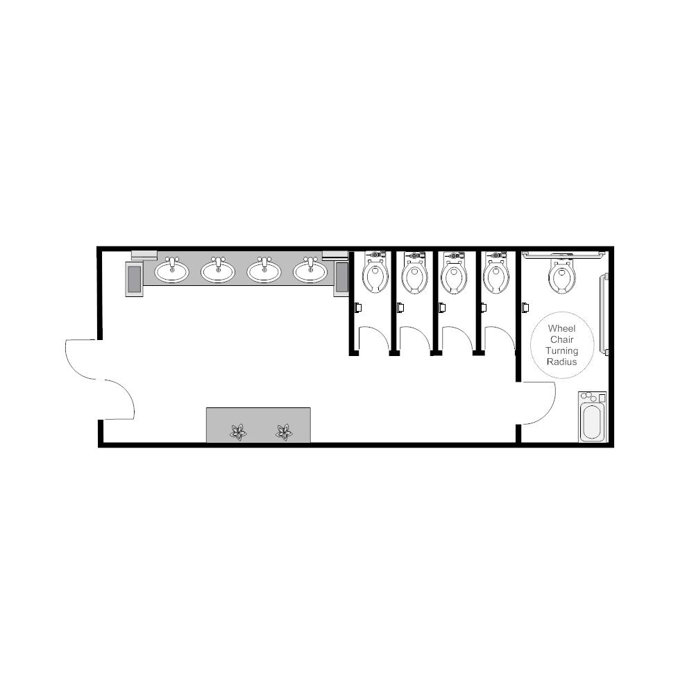 Example Image: Public Restroom - 2