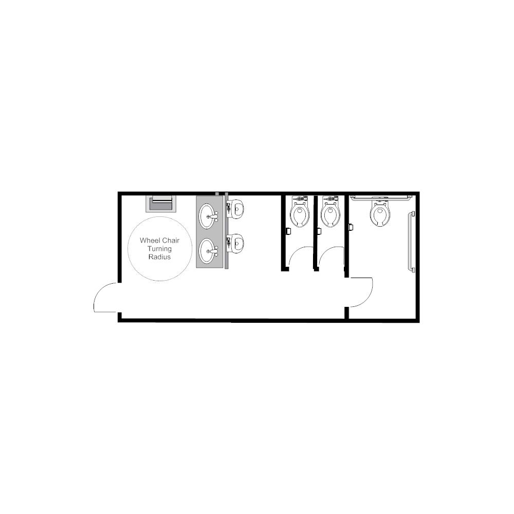 Example Image: Public Restroom - 4