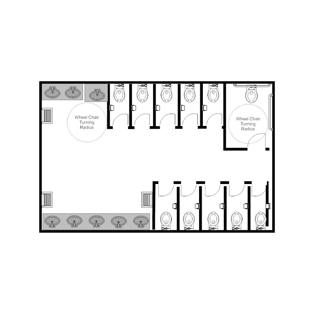 Example Image: Public Restroom - 5