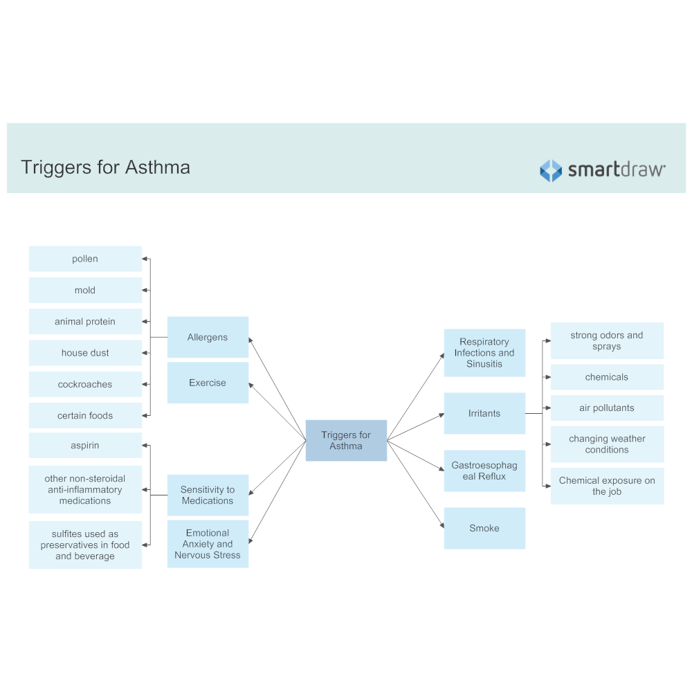 Example Image: Triggers for Asthma Attack