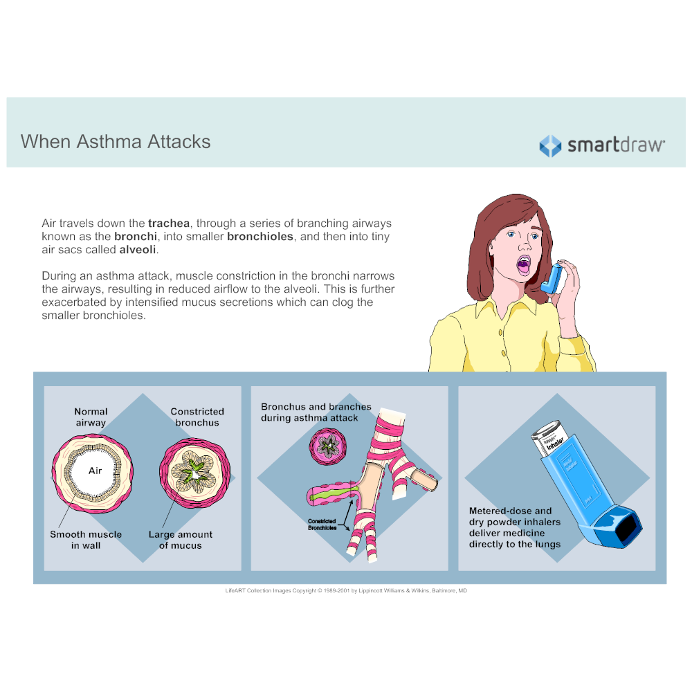 Example Image: When Asthma Attacks