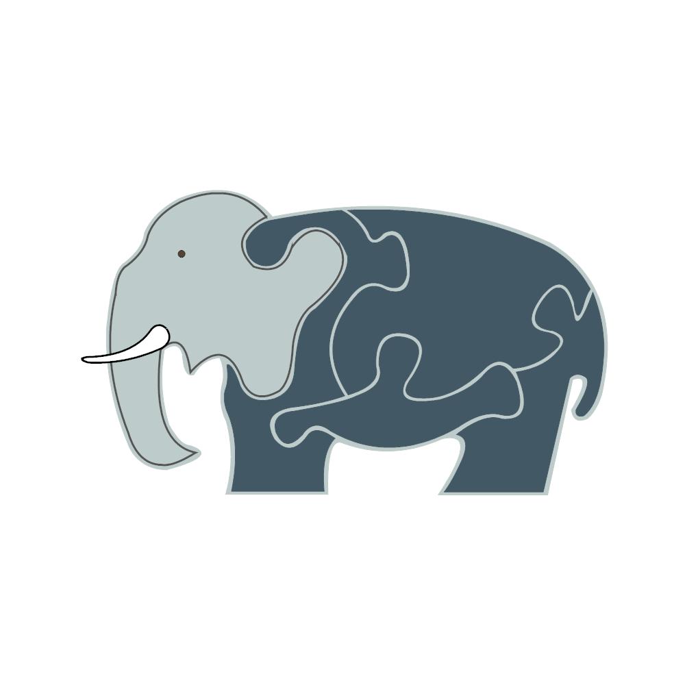 Example Image: Elephant Puzzle