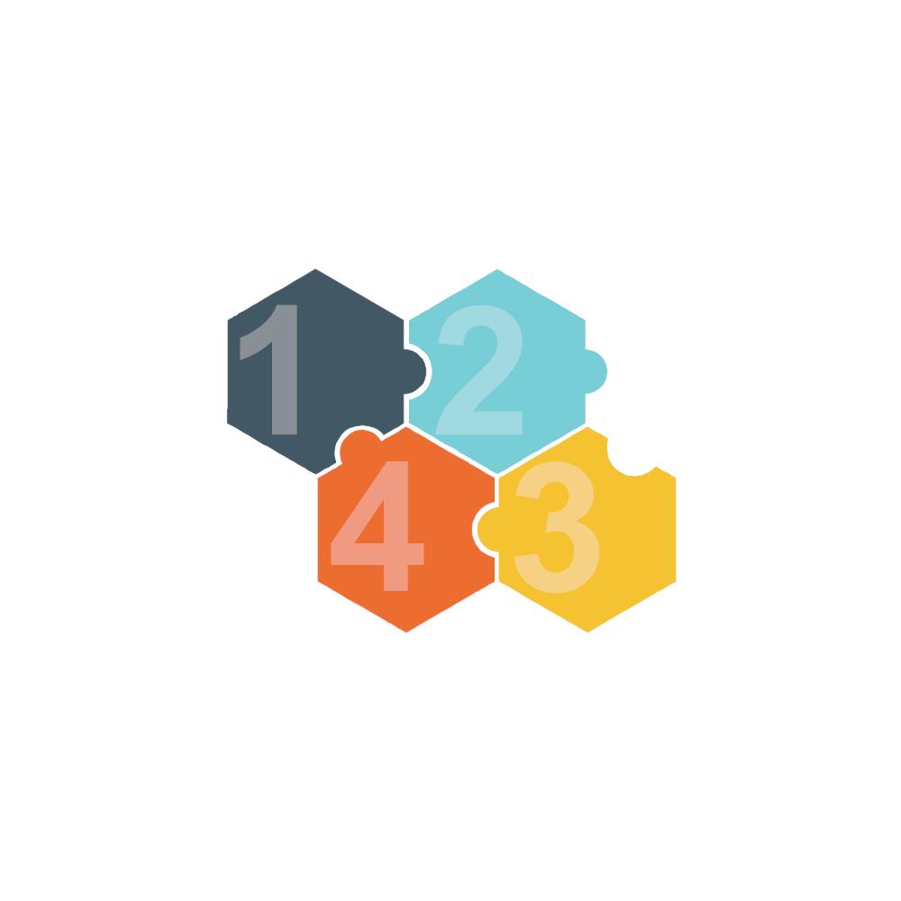 Example Image: Puzzles 12 (Hexagon)
