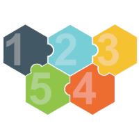 Puzzles 13 (Hexagon)