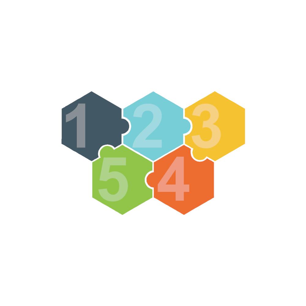 Example Image: Puzzles 13 (Hexagon)