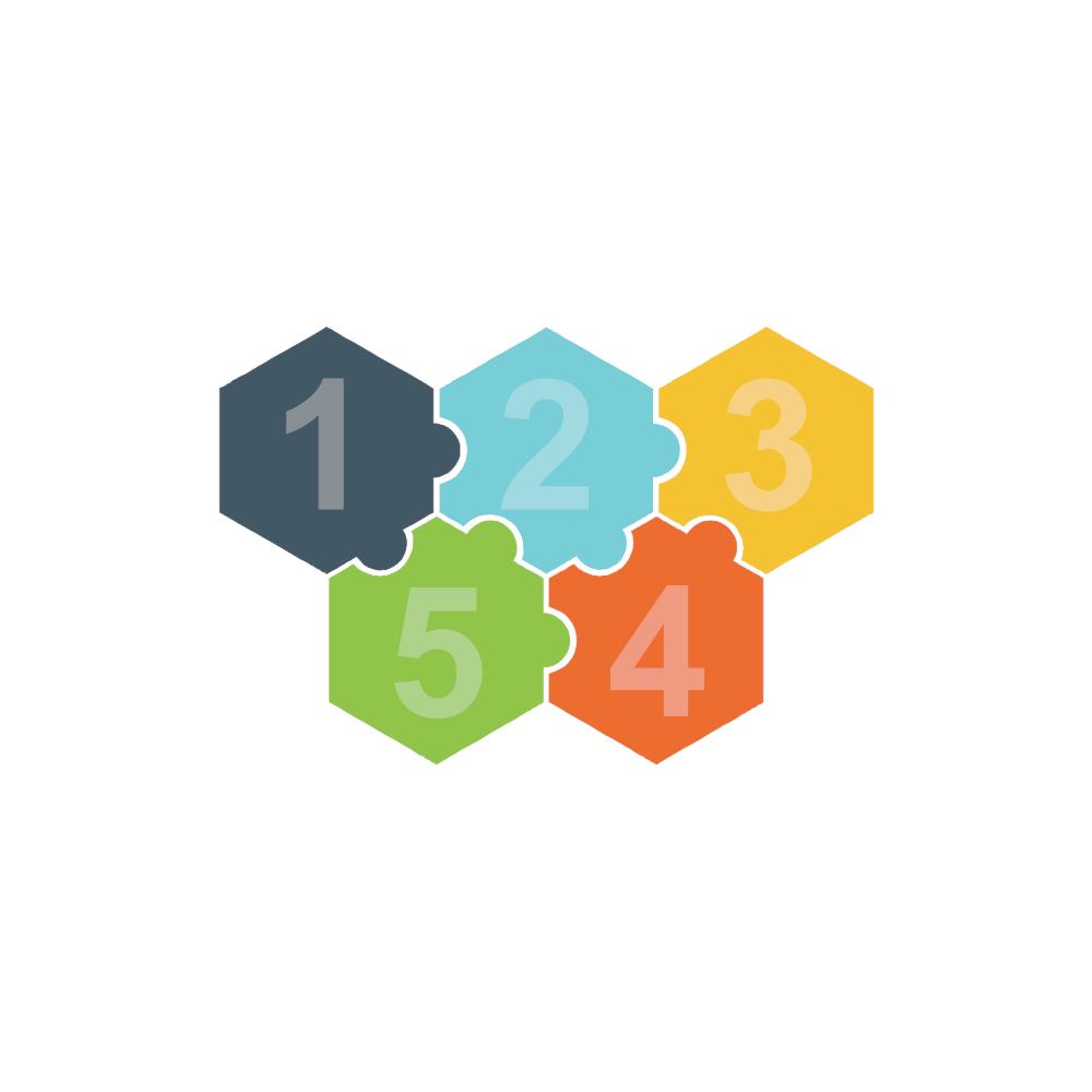 Example Image: Puzzles 14 (Hexagon)