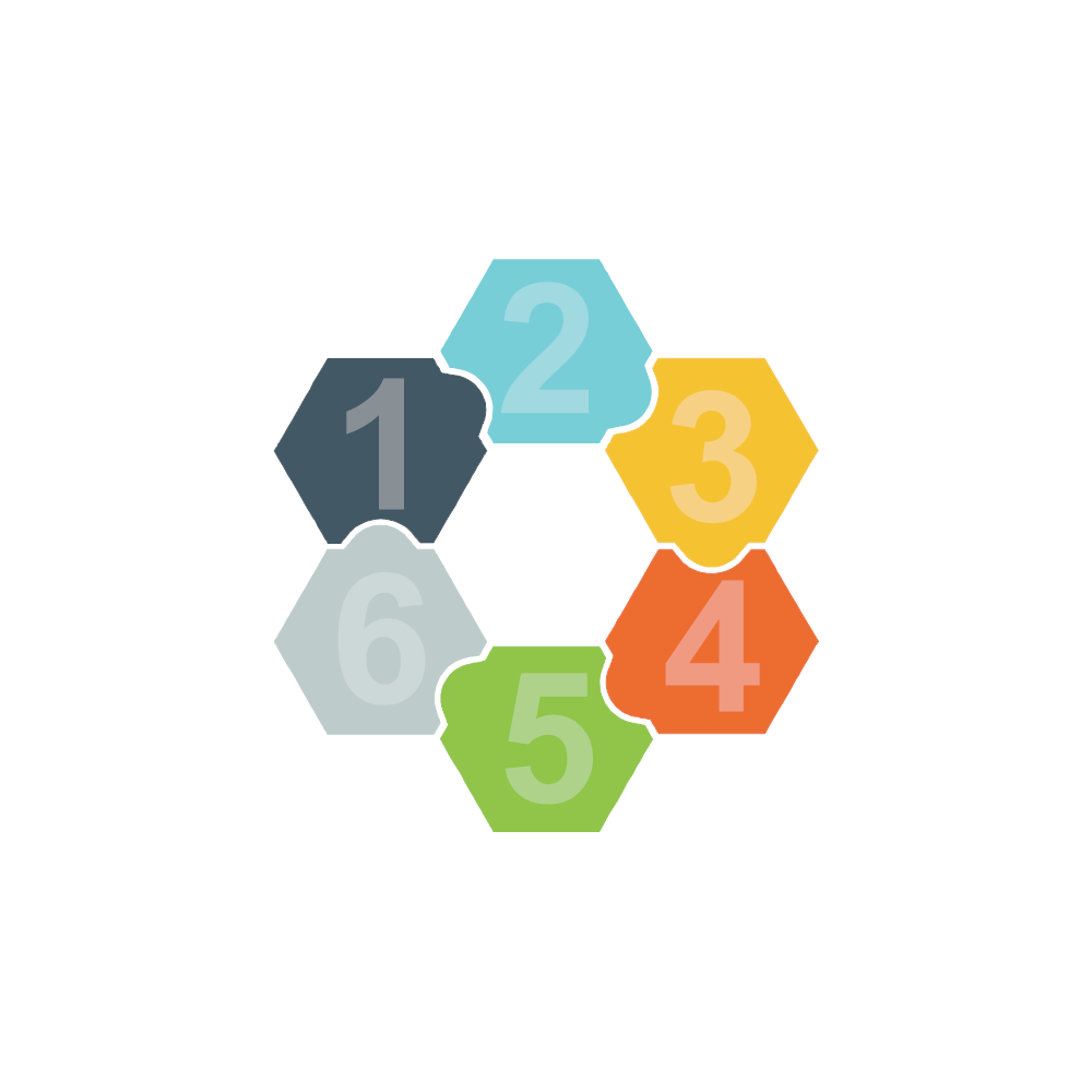 Example Image: Puzzles 15 (Hexagon)