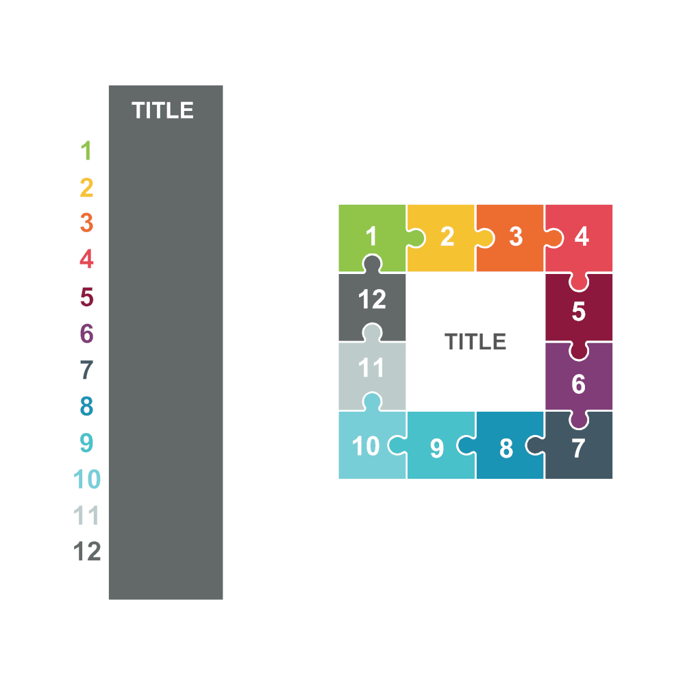Example Image: Puzzles 24 (Square 12 Pieces)