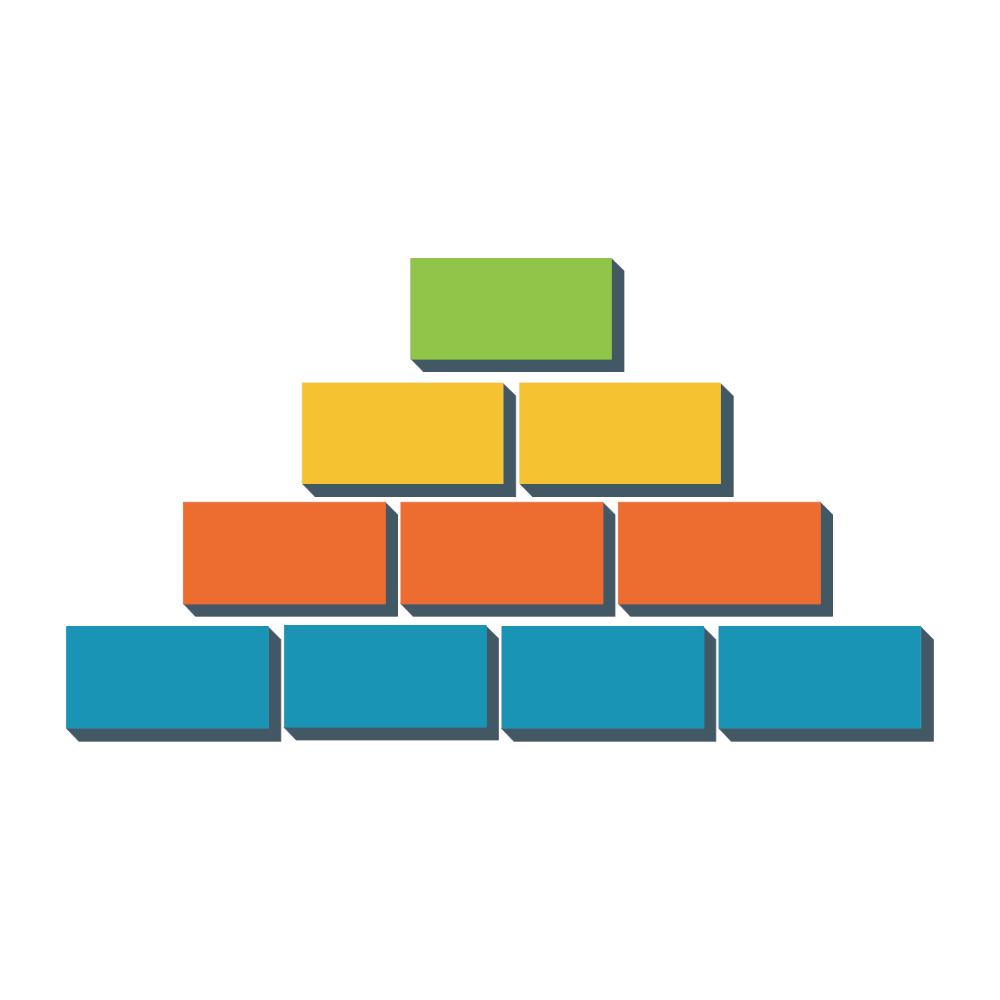Example Image: Block Pyramid