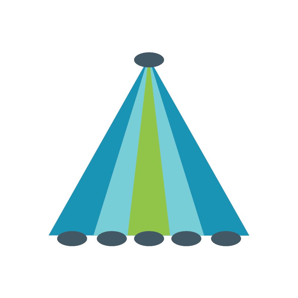 Example Image: Pyramid Strip