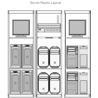 Server Rack Layout