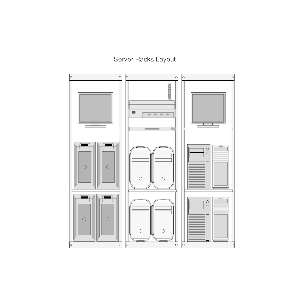 Example Image: Server Rack Layout