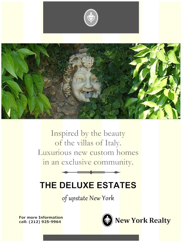 Real estate flyer - Deluxe estates