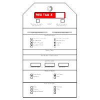 Red Tag Templates