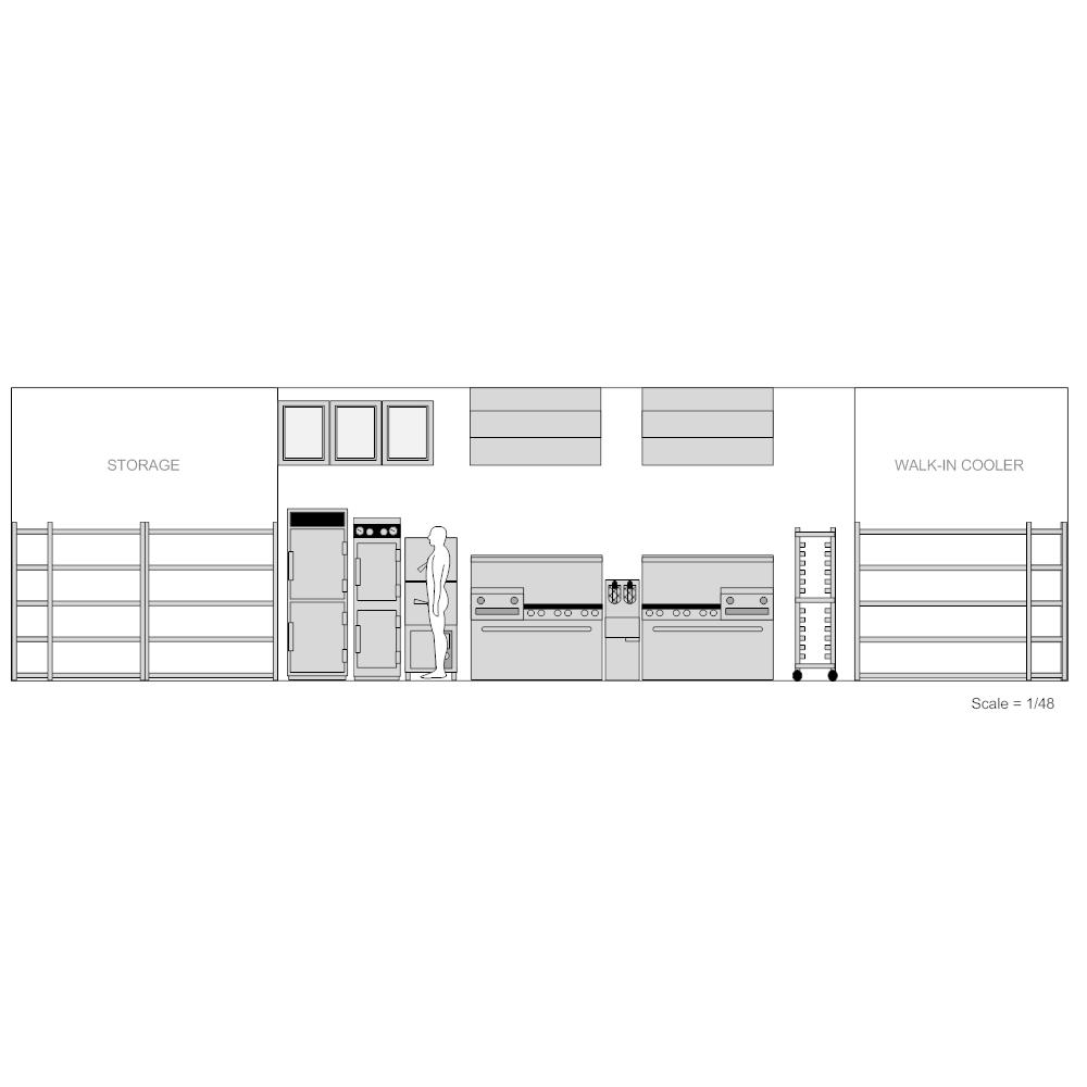 Example Image: Restaurant Kitchen - 1
