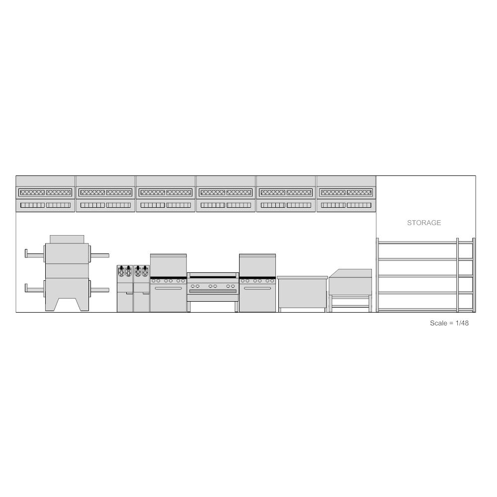 Example Image: Restaurant Kitchen - 2