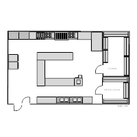 Kitchen Floor Plan restaurant floor plan examples