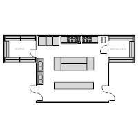 Restaurant Kitchen Plan