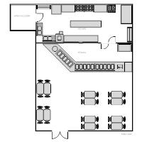 Restaurant floor plan examples restaurant kitchen malvernweather Images