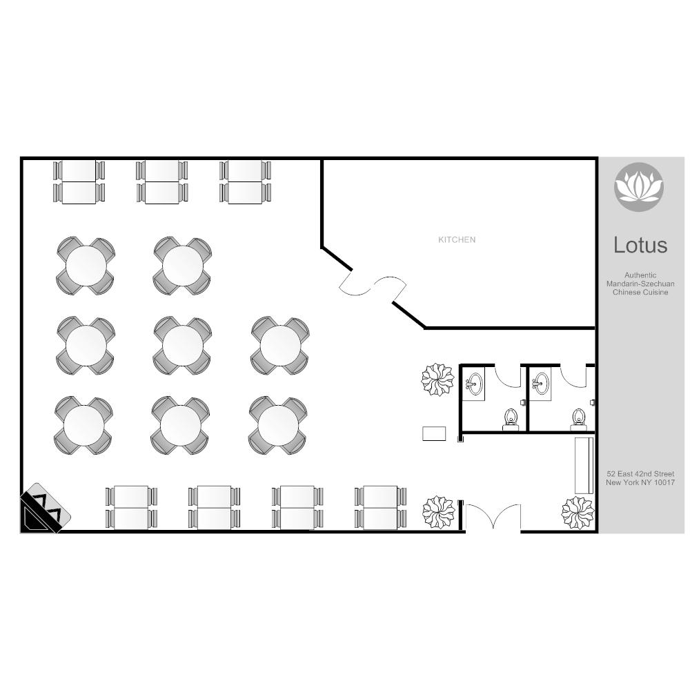 Example Image: Restaurant Layout
