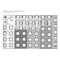 restaurant table layout templates - Terete