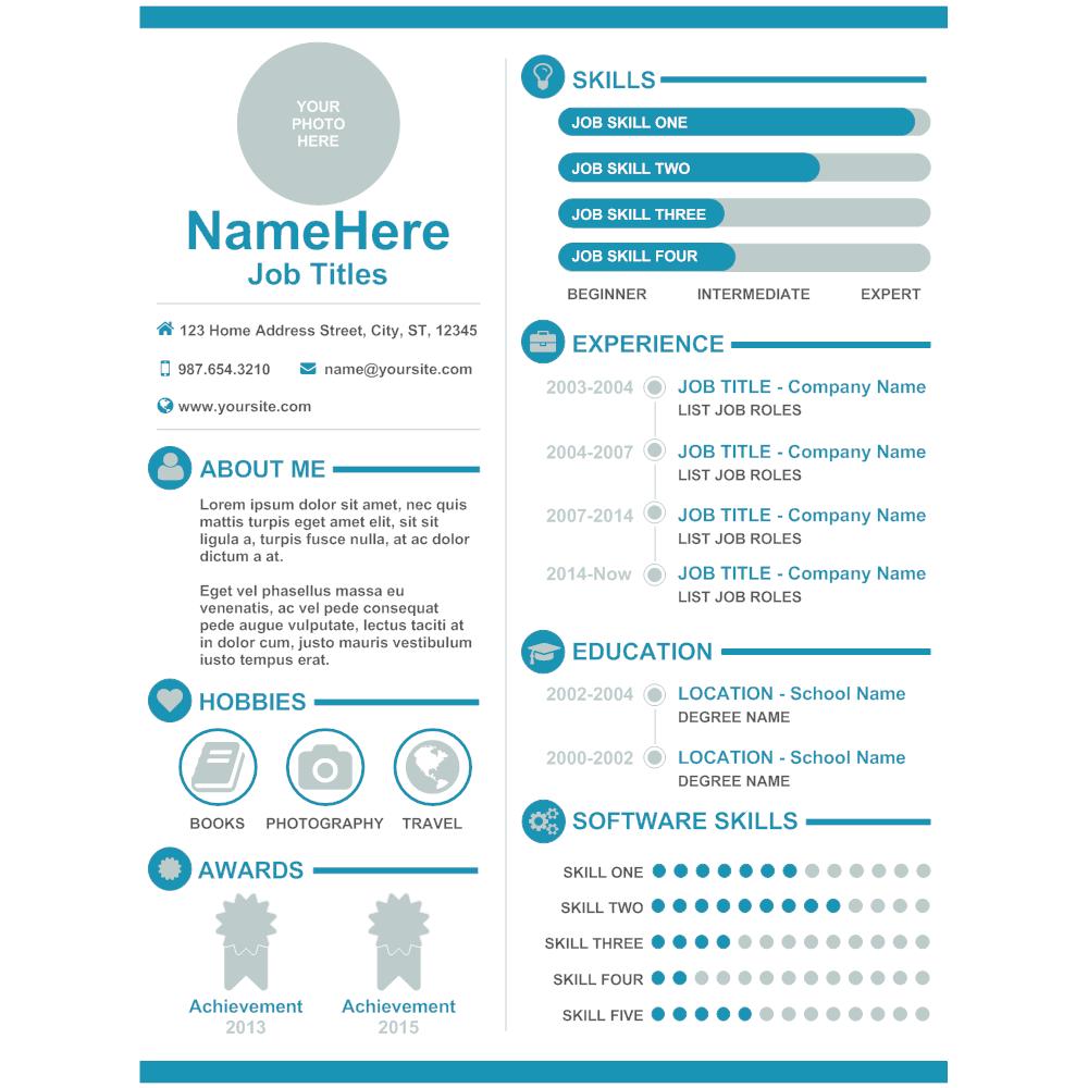 Example Image: Resume 03