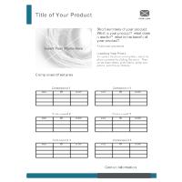 Product Sheet 01