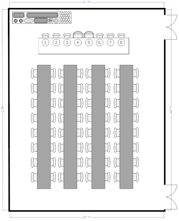 u shape table seating diagram wiring diagram third level