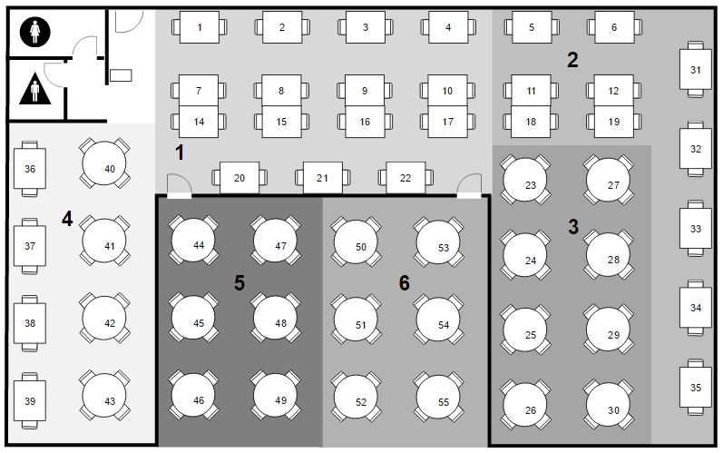 making a seating chart