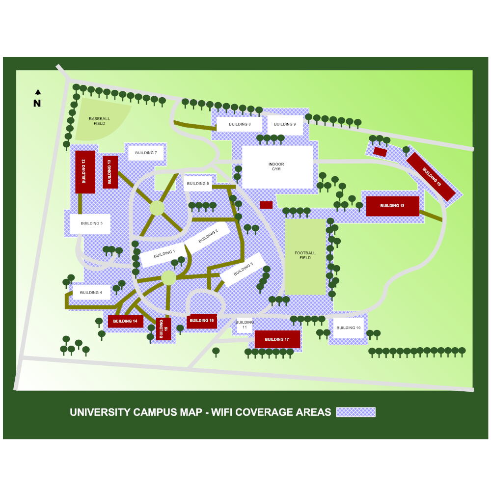 Example Image: Campus WiFi Map