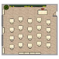 Classroom Plan  Classroom Seating Arrangement Templates