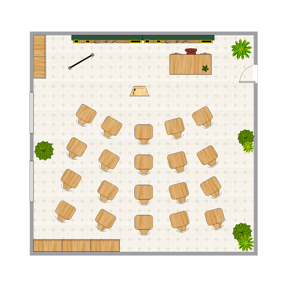 Example Image: Classroom Seating Chart
