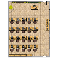 Computer Class Seating Chart