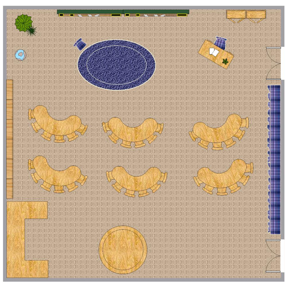 Example Image: Kindergarten Classroom