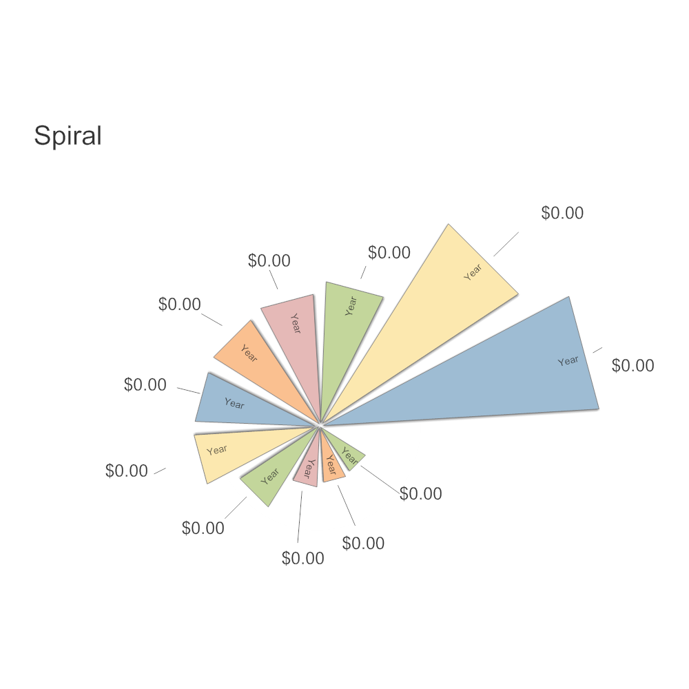 Example Image: Spiral Infographic