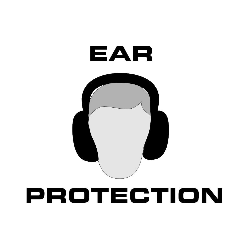 Example Image: Ear Protection Sign