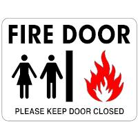 Fire Door Sign
