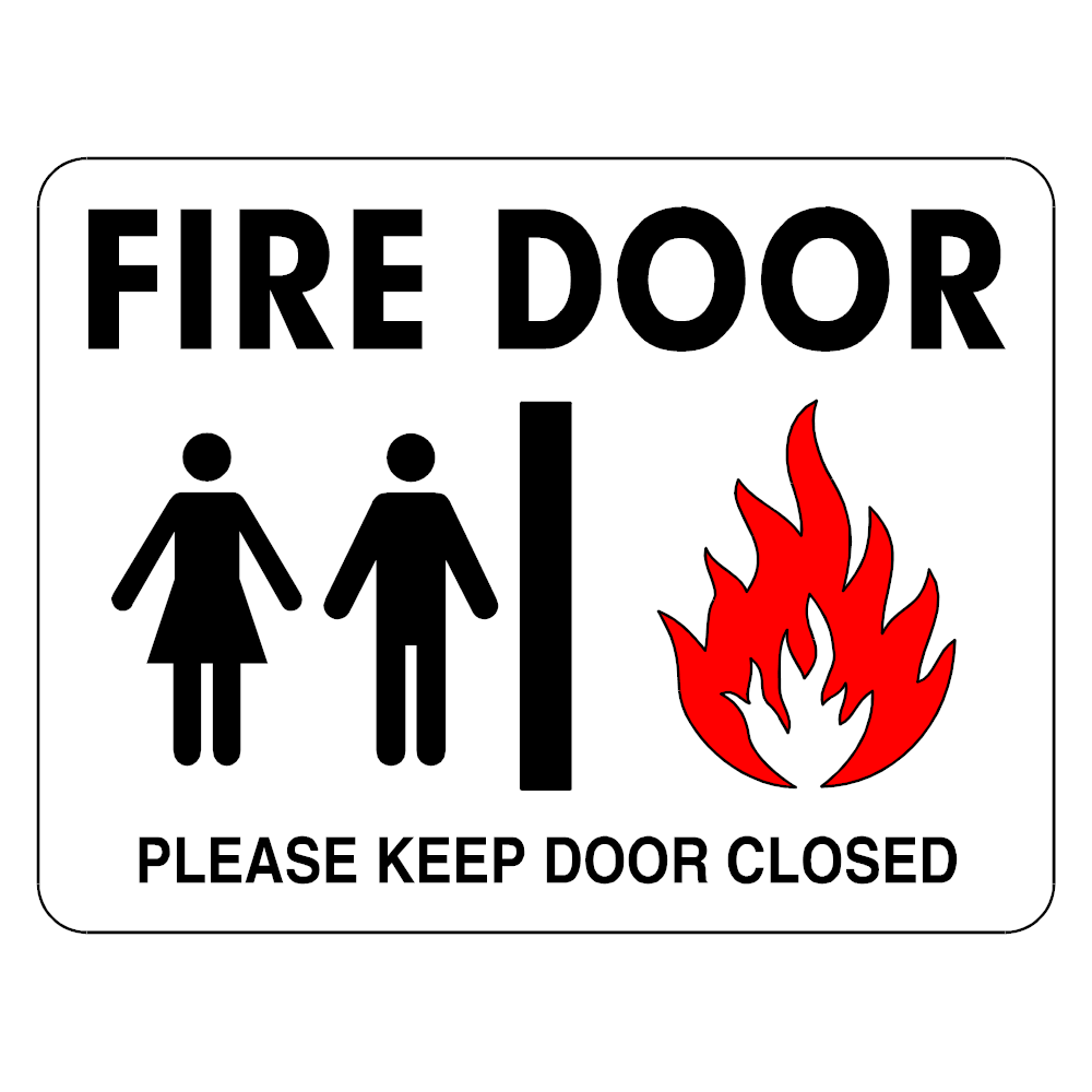 Example Image: Fire Door Sign