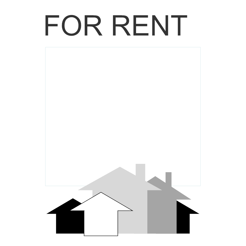 Example Image: For Rent Sign