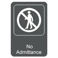 No Admittance Sign